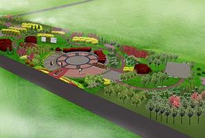 陈家务文化广场景观设计