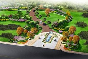 金亨世家别墅区景观设计