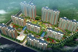 平安佳苑住宅区景观设计
