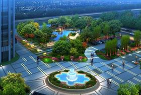 皓源管业(兰州)厂区景观设计