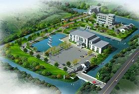 泰顺公司厂区景观设计